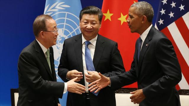 EEUU y China ratifican acuerdo de París sobre cambio climático