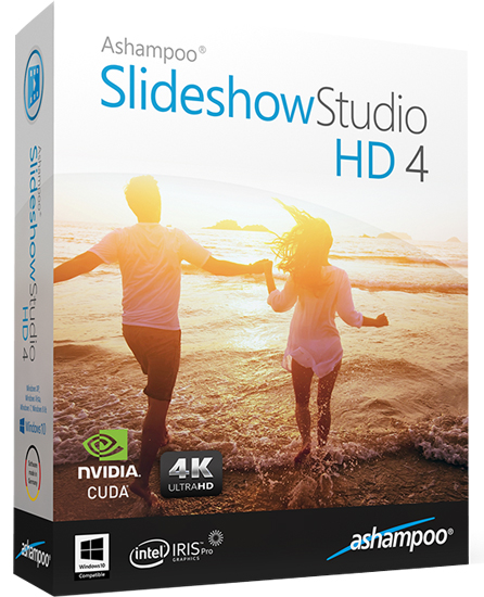 Ashampoo Slideshow Studio HD 4.0.6 poster box cover