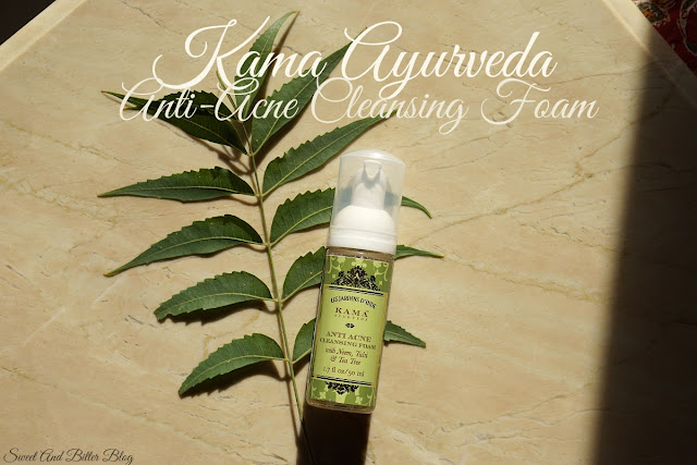 Kama Ayurveda Anti-Acne Cleansing Foam with Neem, Tulsi & Tea Tree Review