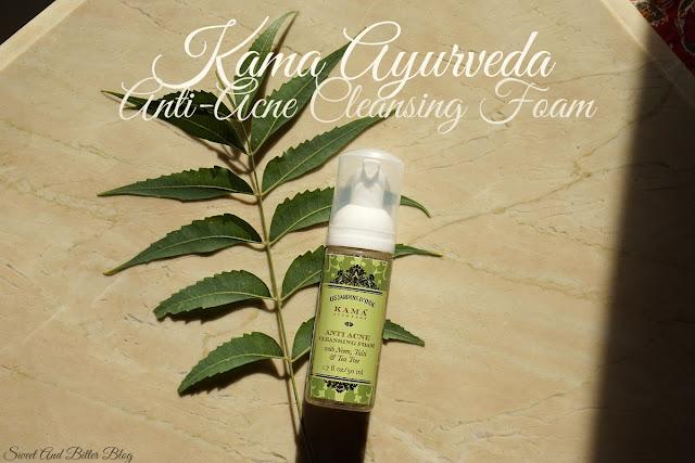 Kama Ayurveda Anti-Acne Cleansing Foam with Neem, Tulsi & Tea Tree Review