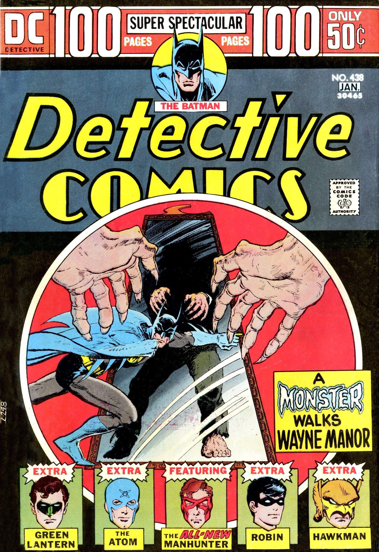Detective Comics (1937) 438 Page 1
