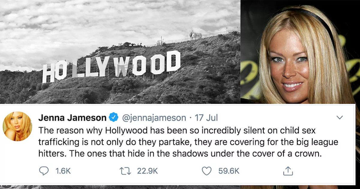 Jenna Jameson, Former 'Porn Queen', Posts Series Of Tweets Accusing Hollywood Elite Of Pedophilia