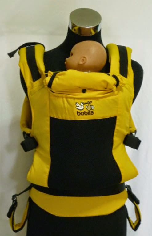 Bobita Gen2 Soft Structured Carrier (SSC) - Yellow