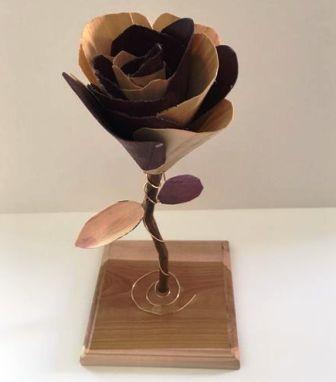Cara Membuat Bunga dari Kayu - Wood Flower