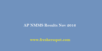 AP NMMS Results Nov 2016 Merit List