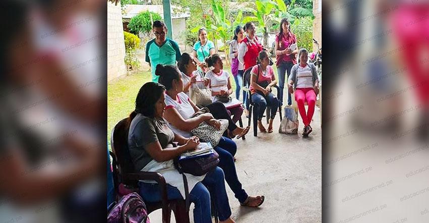 CUNA MÁS: Programa social fortalece capacidades de madres cuidadoras en San Martín - www.cunamas.gob.pe