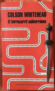 Portada del libro El ferrocarril subterráneo, de Colson Whitehead