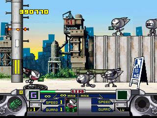 Cyborg Kurochan PS1 Gameplay