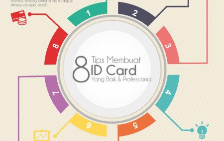 8 Tips Membuat ID Card / Kartu Nama yang Baik & Professional