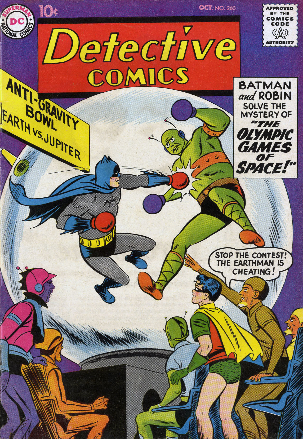 Detective Comics (1937) 260 Page 1