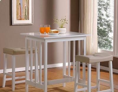 foto dan gambar meja makan minimalis 2014 terbaru - desain