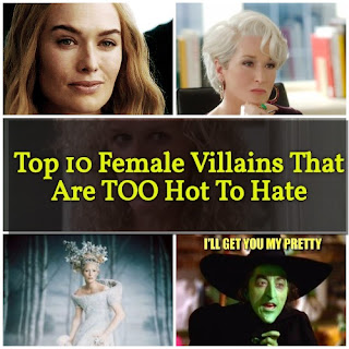 Top 10 Female Villains That Are TOO Hot To Hate
