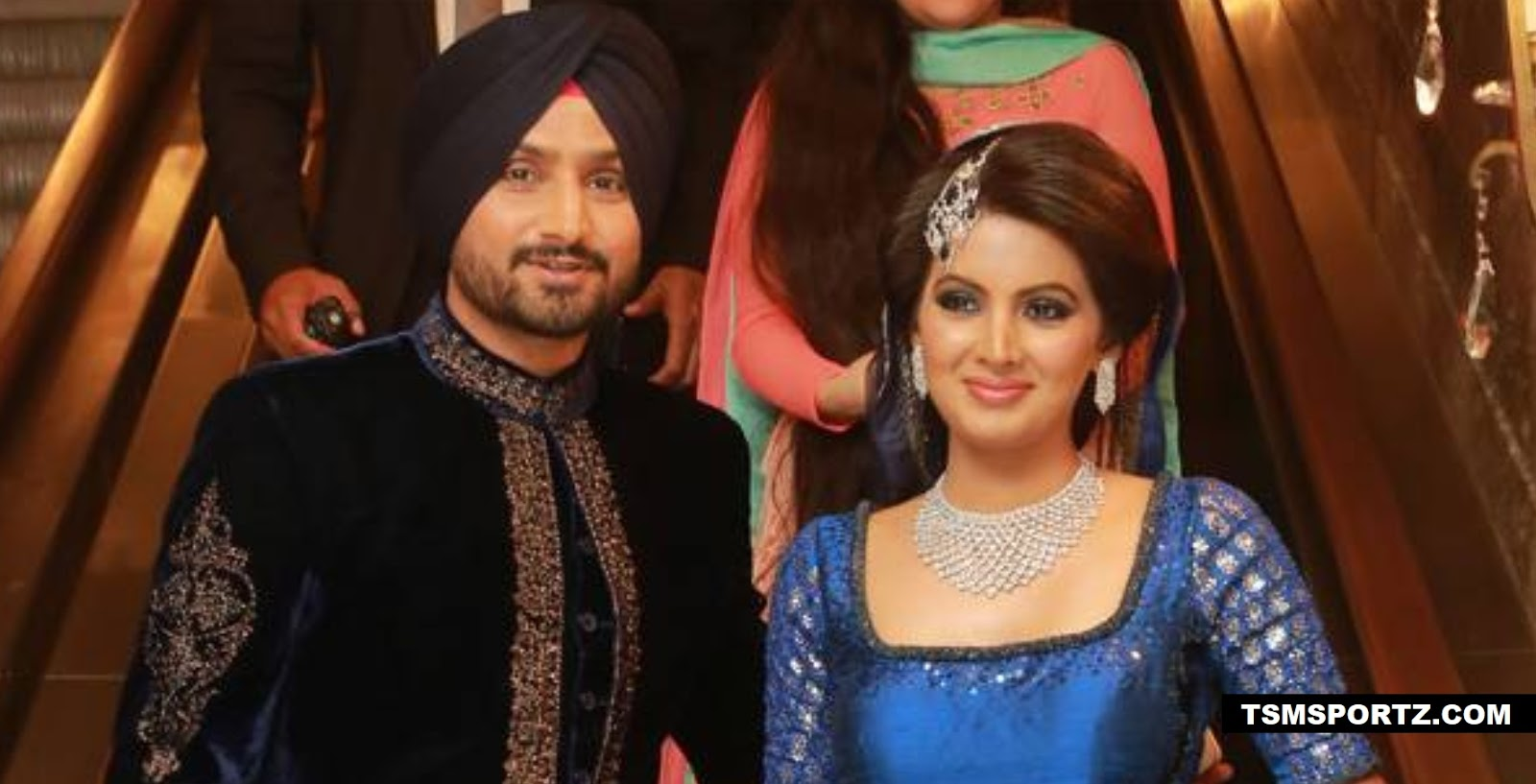 Harbhajan Singh Married to Geeta Basra in 2015