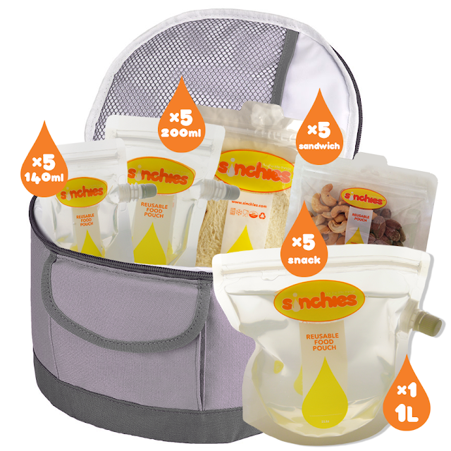Sinchies big kids lunchbox pack