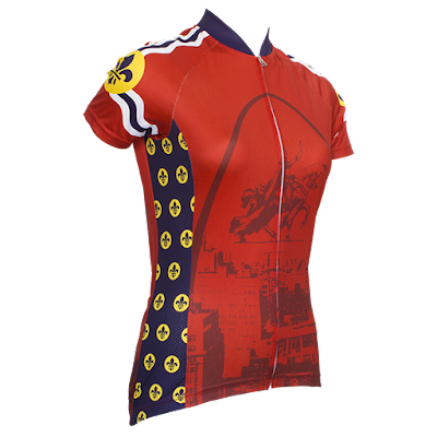 STL-Style Women's Short Sleeve Cycling Jersey