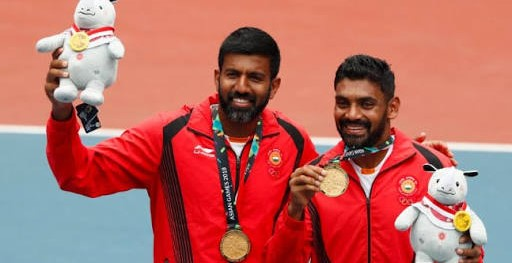 Asian Games 2018: Rohan Bopanna Divij Sharan wins gold in men's doubles tennis