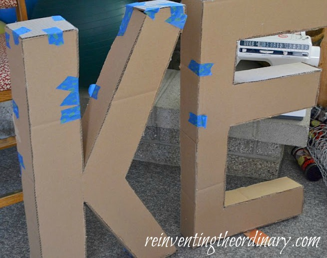 Reinventing the Ordinary: How to Make 3D Letters for your Party