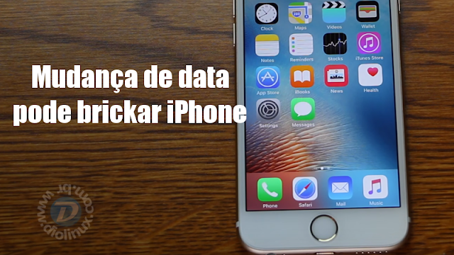Mudança de data pode brickar iPhone