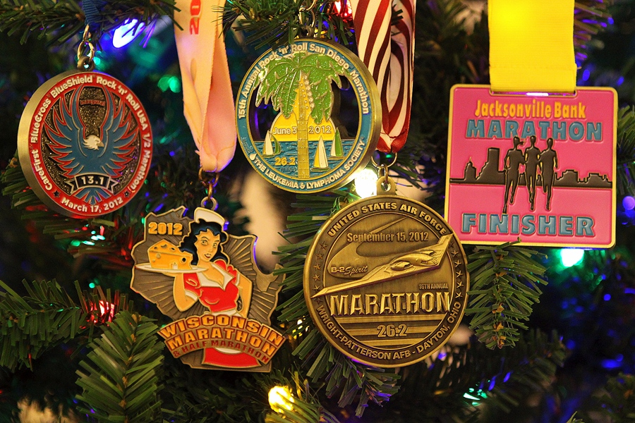 DRH 2012 Race Medals