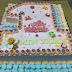 Baby Min Xuan 1st birthday cake