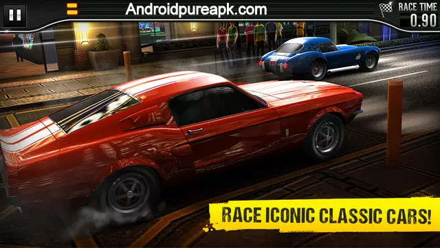 CSR Classics Apk Download Mod+Hack+Data
