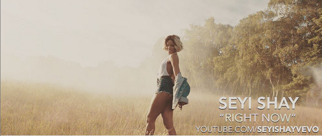Seyi Shay  – Right Now