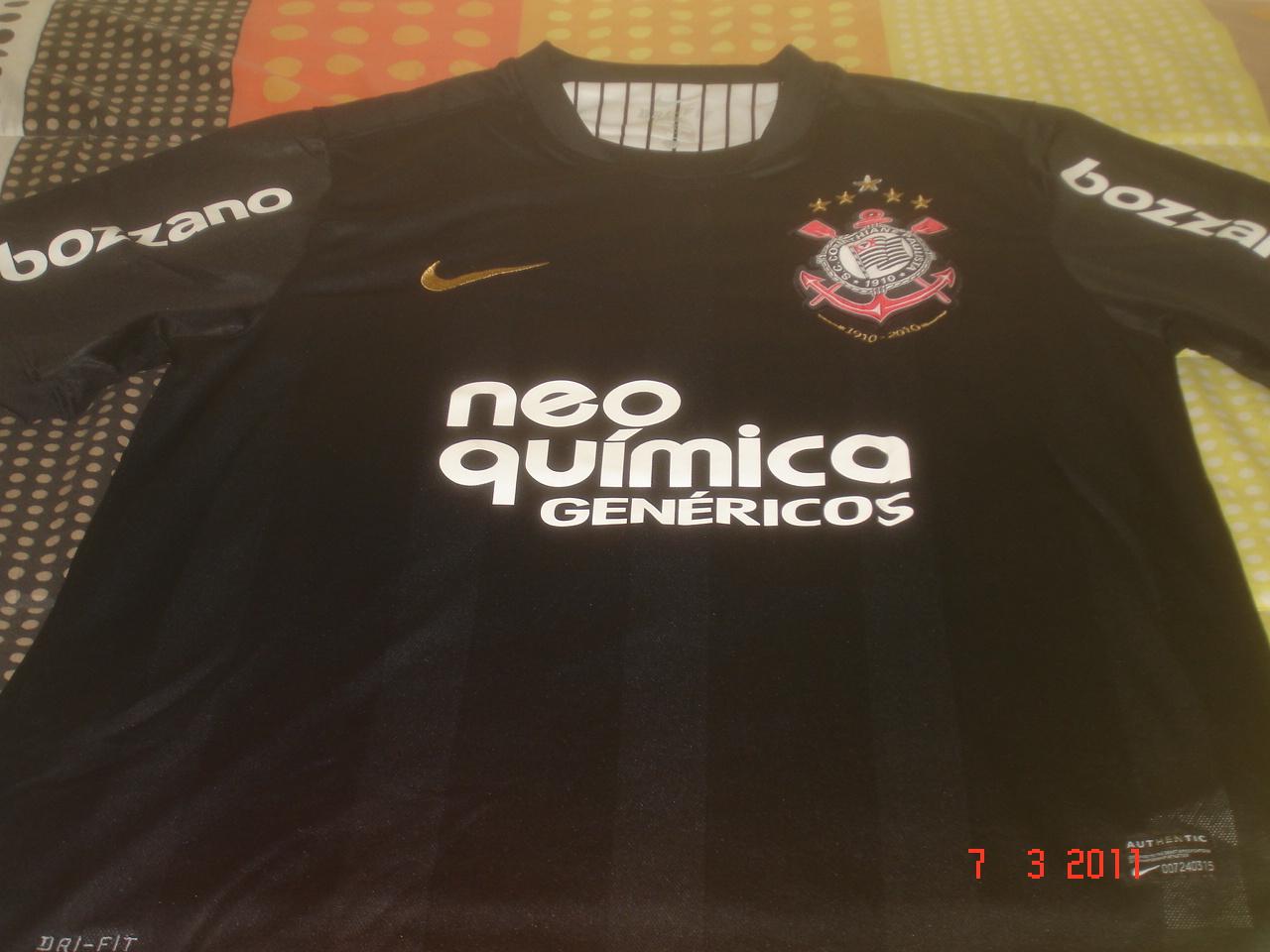 63aeb9b2b1 Camisa do Corinthians Centenário