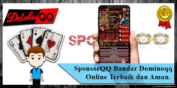 SponsorQQ Agen Bandar Dominoqq Online Terbaik dan Aman.