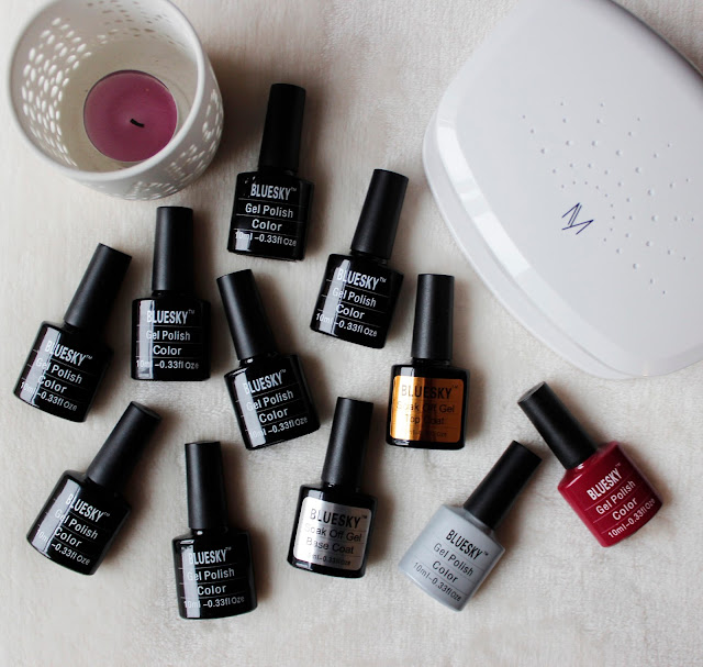 Bluesky Gel Nail Kit   Why I've Stopped Paying For Manicures   Tea And Beauty