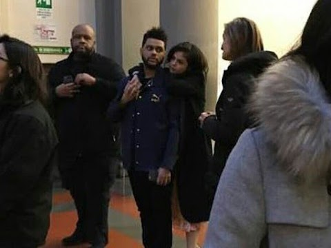 selena gomez e the weeknd innamorati a firenze