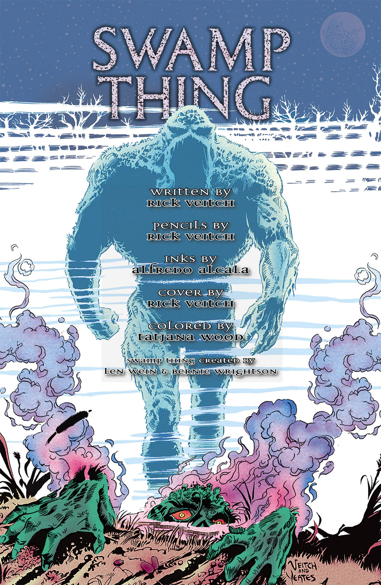 Swamp Thing (1982) Issue #75 #83 - English 23