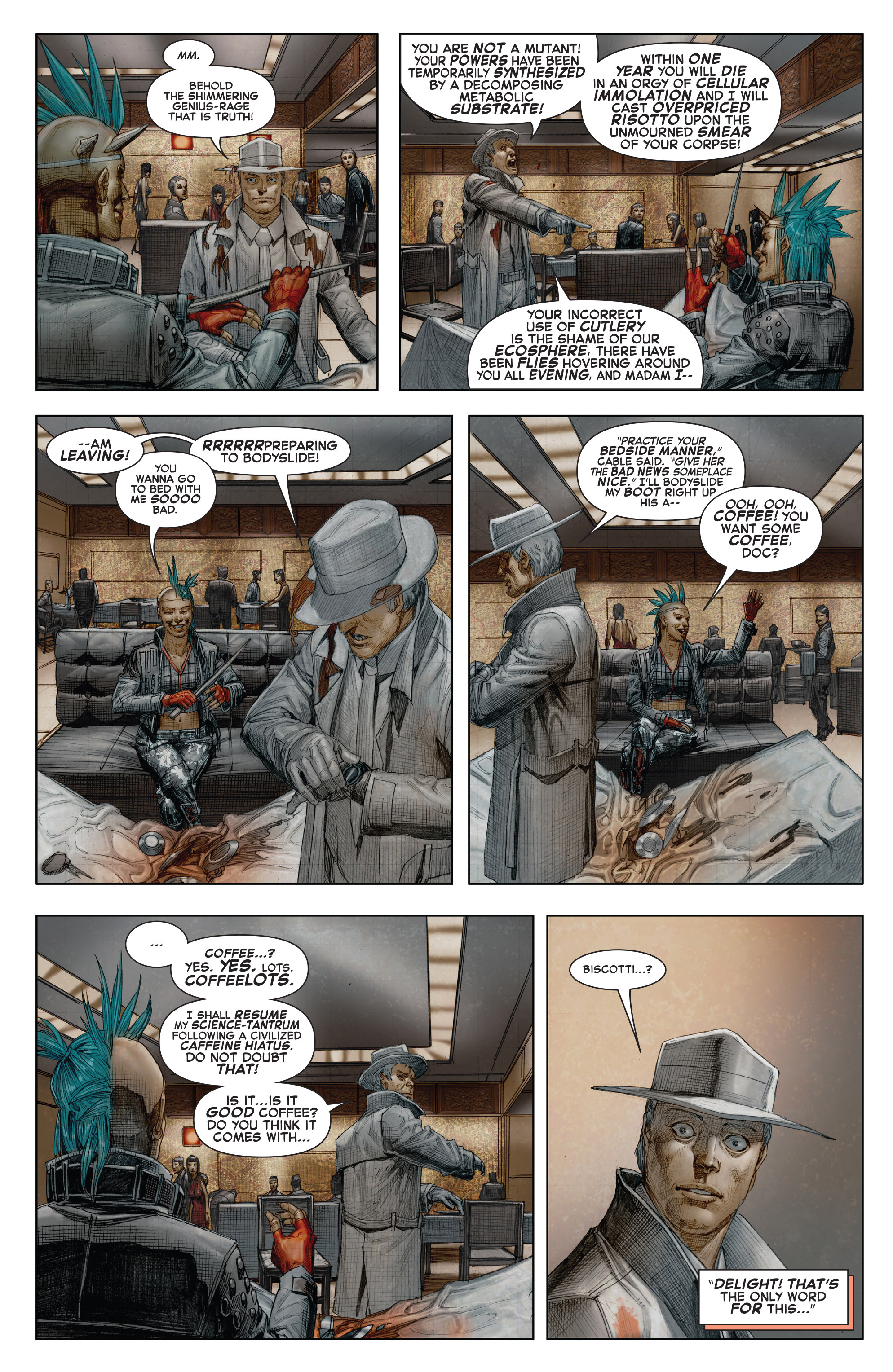 Read online X-Force (2014) comic -  Issue #7 - 10