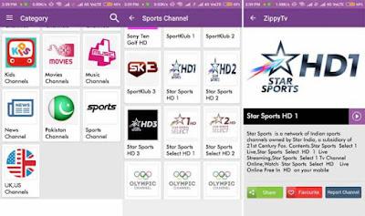 تطبيق ZippyTv لمشاهدة القنوات الرياضية المشفرة مجّاناً بدون احتكار