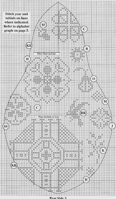 Схема вышивки квакеров 324
