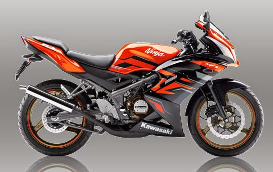 Kawasaki Ninja 150RR Orange