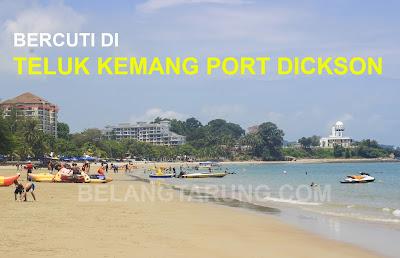 Pantai Teluk Kemang Port Dickson Cantik