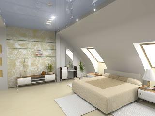 schlafzimmer bett dachschräge