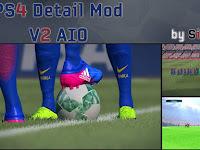 PES 2017 PS 4 Detail Mod V2 AIO dari Sinestro19