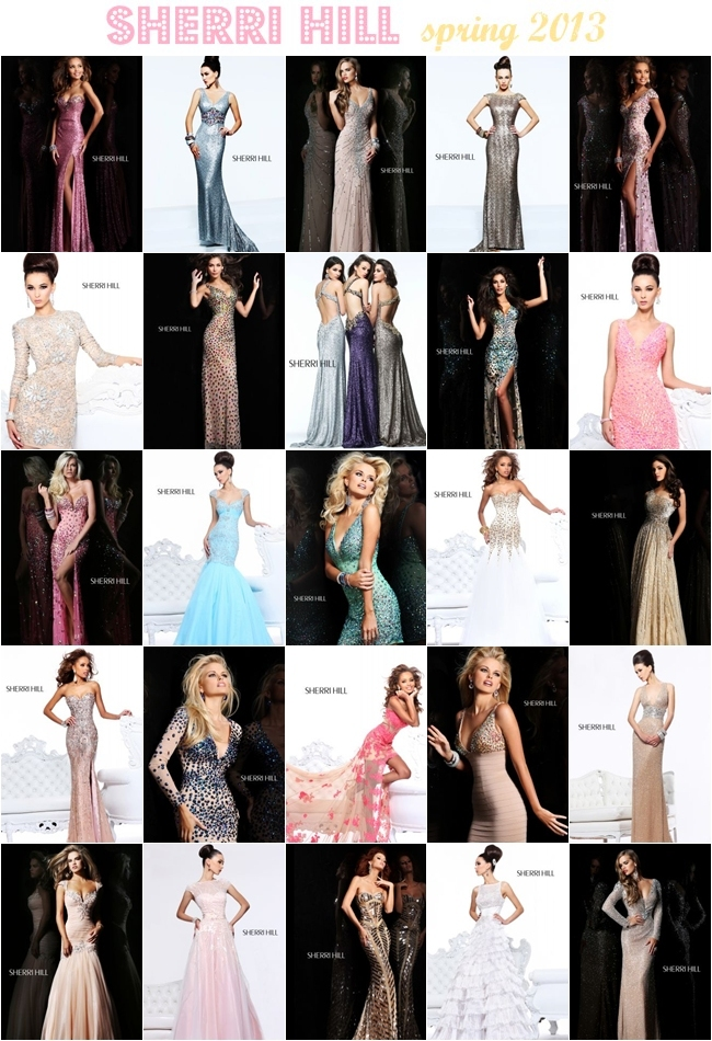 Sherri Hill most beautiful dresses