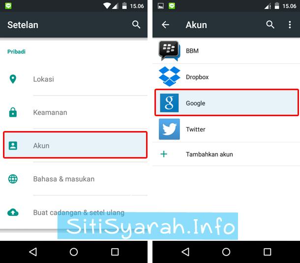 Cara Keluar Dari Gmail Di Android