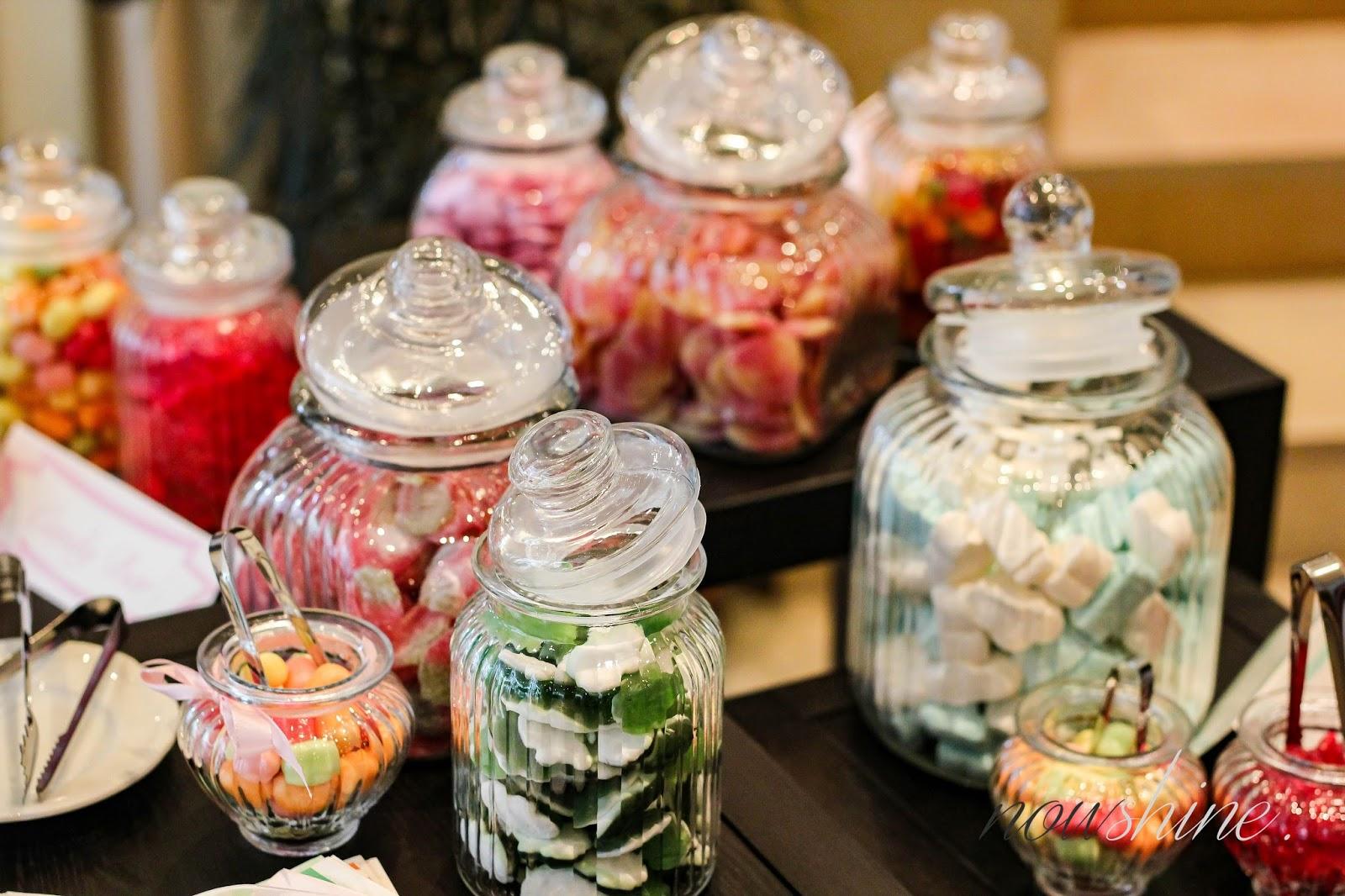 Süßigkeiten im Glas