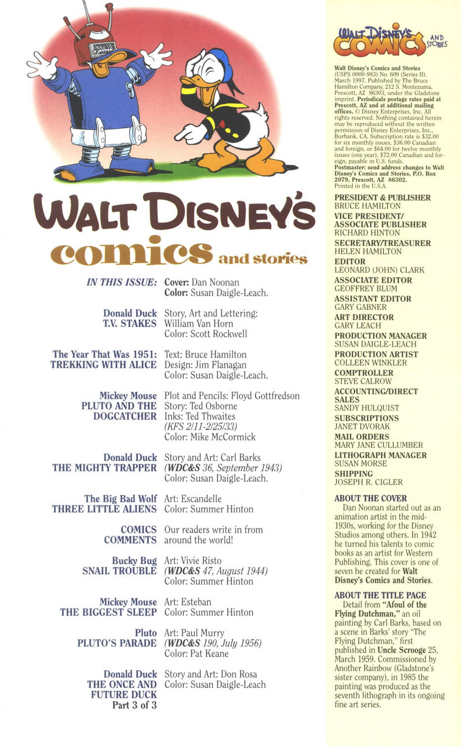 Walt Disney's Comics and Stories issue 609 - Page 4