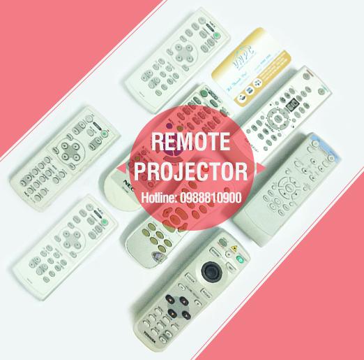 Remote máy chiếu cũ chính hãng