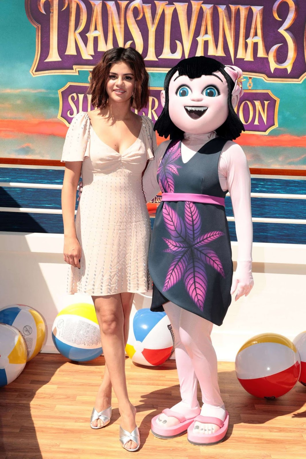 Selena Gomez: Hotel Transylvania 3: Summer Vacation Photocall