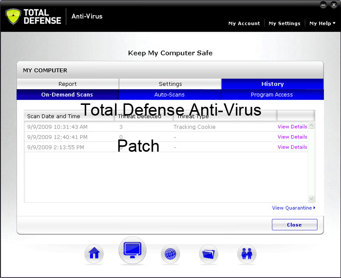 Total Defense Antivirus 2015 Activation Key Patch License Key Crack Free