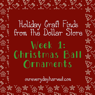 Christmas Ball Ornament Craft