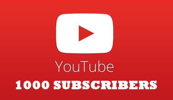Tips Mendapatkan 1000 Subscribers Youtube