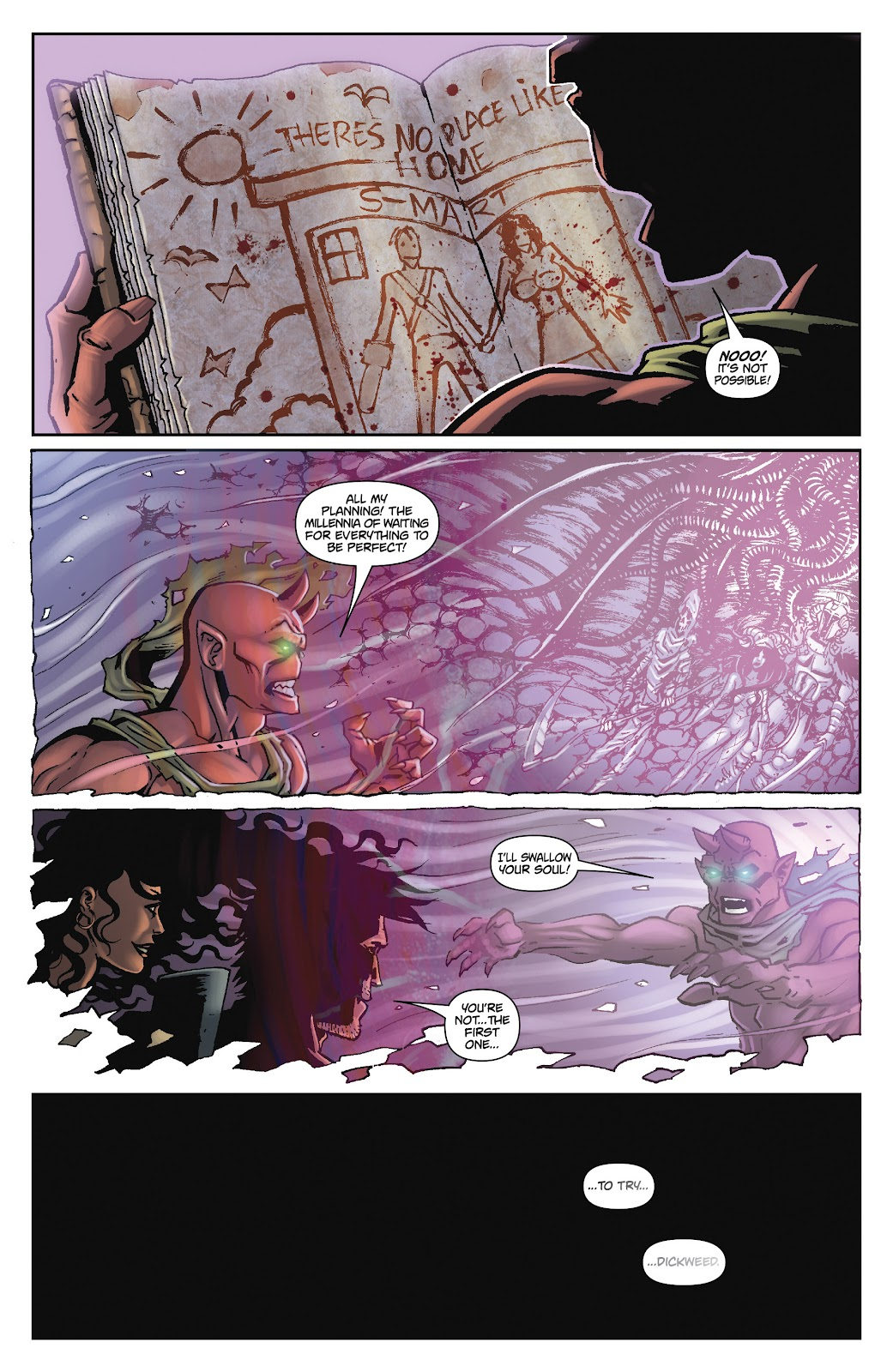 Army of Darkness: The Long Road Home issue TPB - Page 102