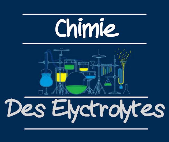 Exercices Chimies des Electrolytes et Fiches des solutions électrolytiques.