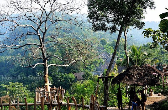 Inilah gardu pandang Watu Tekek, Kulon Progo
